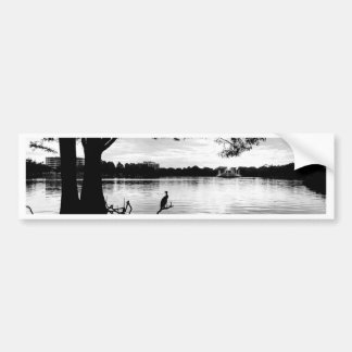 Morning Lake Bumper Sticker