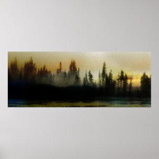 Morning Light - Alert Bay Poster