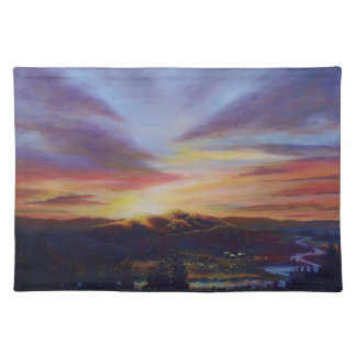 Morning Light in CHB Sunrise Painting Placemat