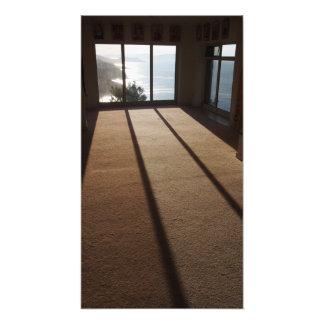 """Morning light in the meditation room"" photo print"