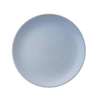 MORNING LIGHT (pale blue fade) ~ Porcelain Plate