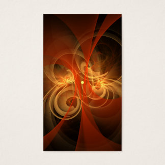 Morning Magic Abstract Art Business Card