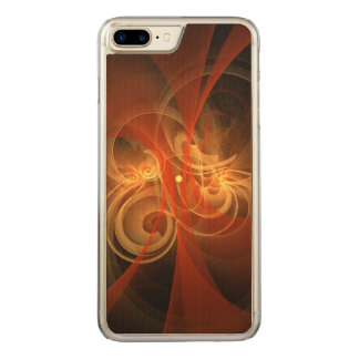 Morning Magic Abstract Art Carved iPhone 7 Plus Case