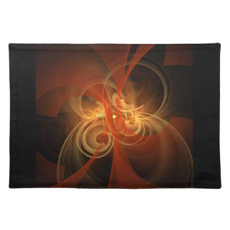 Morning Magic Abstract Art Placemat
