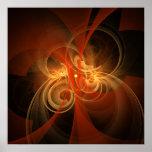 Morning Magic Abstract Art Print