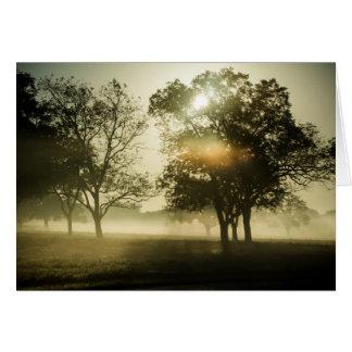Morning Mist Card