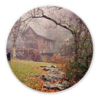 Morning Mist Ceramic Knob