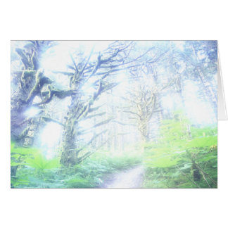 Morning Mist Greeting Card