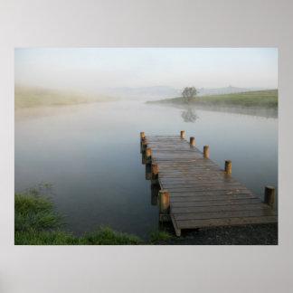 Morning Mist - Poster