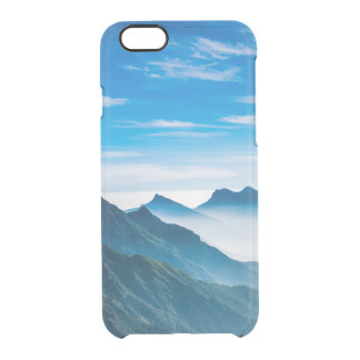 Morning Mountain Mist Clear iPhone 6/6S Case