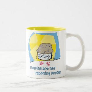Morning Muffin Two-Tone Coffee Mug