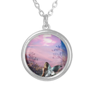 MORNING MYST SILVER PLATED NECKLACE