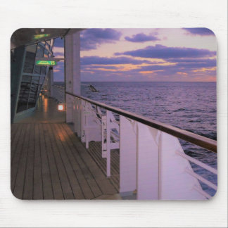 Morning on Board Mouse Pad