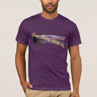 Morning on Deck Cruise with Me T-Shirt