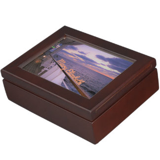 Morning on Deck Personalized Memory Boxes