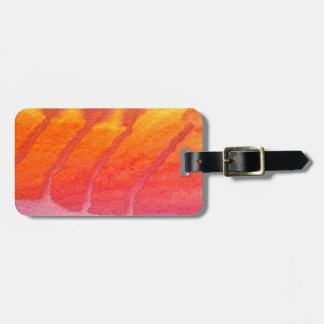 Morning on the hill luggage tag