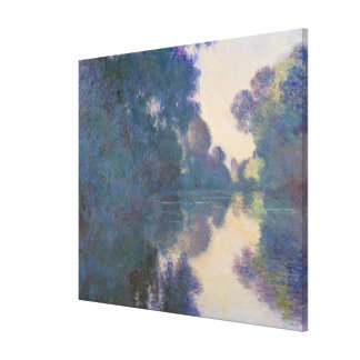 Morning on the Seine near Giverny Canvas Print