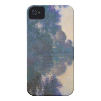 Morning on the Seine near Giverny - Claude Monet.j Case-Mate iPhone 4 Cases