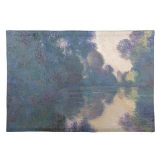Morning on the Seine near Giverny - Claude Monet.j Placemat