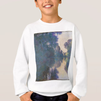 Morning on the Seine near Giverny - Claude Monet.j Sweatshirt