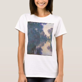 Morning on the Seine near Giverny - Claude Monet.j T-Shirt