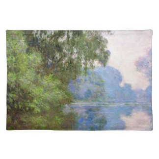 Morning on the Seine near Giverny Claude Monet Placemat