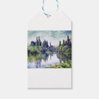 Morning on the Seine, near Vetheuil - Claude Monet Gift Tags