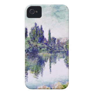 Morning on the Seine, near Vetheuil - Claude Monet iPhone 4 Cases