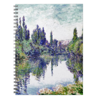 Morning on the Seine, near Vetheuil - Claude Monet Notebook