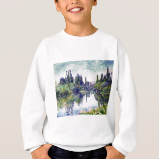 Morning on the Seine, near Vetheuil - Claude Monet Sweatshirt