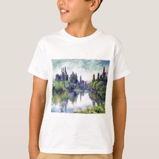 Morning on the Seine, near Vetheuil - Claude Monet T-Shirt
