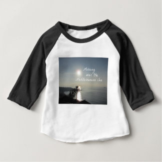 Morning over the Mediterranean Sea Baby T-Shirt