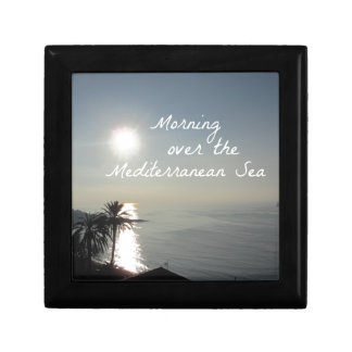 Morning over the Mediterranean Sea Gift Box