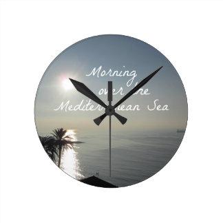 Morning over the Mediterranean Sea Round Clock