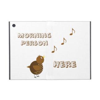 Morning Person Here iPad Mini Cover