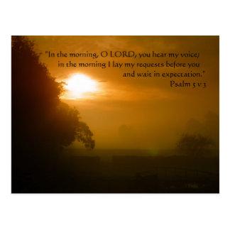 Morning Prayer | Postcard