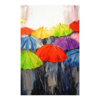 Morning rain stationery