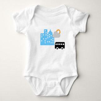 Morning Road Baby Bodysuit