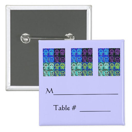 Morning Service / Evening Affair Pin-On PLACECARD