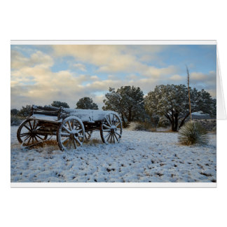 Morning Snow at Dawn's Early Light Card
