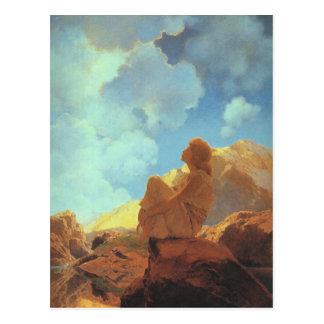 Morning (Spring), Maxfield Parrish Fine Art Postcards