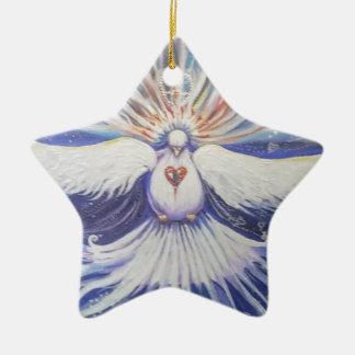 Morning Star Ceramic Ornament