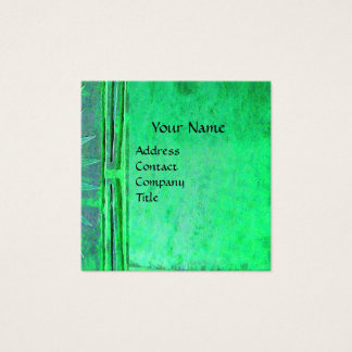 MORNING STAR Green Square Business Card