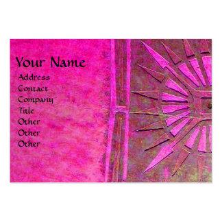 MORNING STAR MONOGRAM BUSINESS CARD