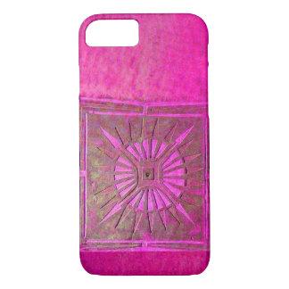 MORNING STAR , Pink,Black,Fuchsia iPhone 8/7 Case