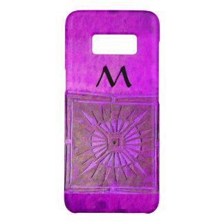 MORNING STAR Purple Black Monogram Case-Mate Samsung Galaxy S8 Case