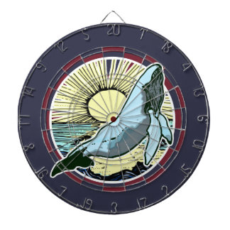 Morning sun whale 2 dartboard