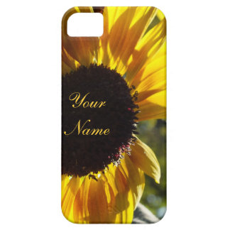 Morning Sunflower Customizable Case For The iPhone 5