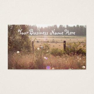 Morning Sunlight Business Card