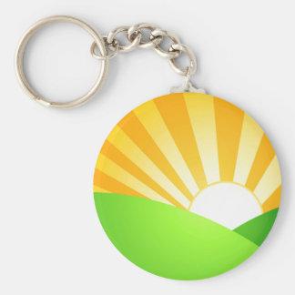 Morning Sunrise Key Chain